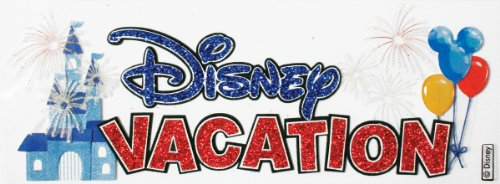 Sticko Disney Title Dimensional Stickers Disney Vacation