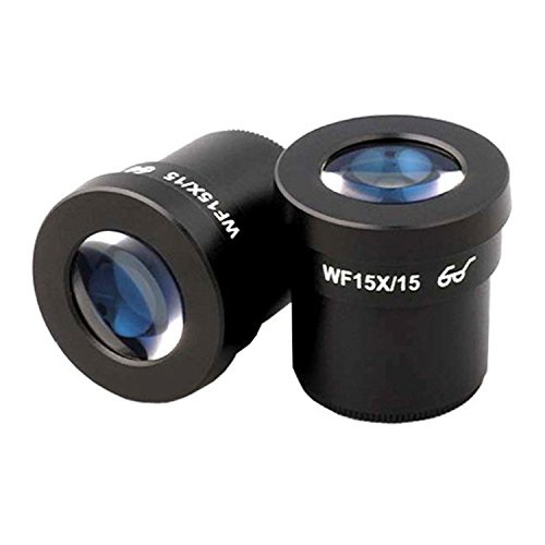 AmScope EP15X30 Pair of Super Widefield 15X Microscope Eyepieces (30mm)