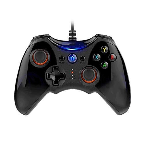 Controladores Controlador de juegos con cable Controlador de juegos USB Controlador de juegos for computadora Juego de TV inteligente Iluminación for teléfonos móviles Controlador de juegos 2 metros d