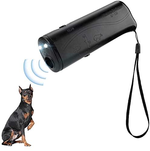 SharpCost Ultraschall Hunde, 3 in 1 Anti-barke Handheld-Hundetrainingsgert, Hunde Repeller, LED-Au enrinde-Controller, Anti-Bellen-Gerät für kleine bis große Hunde