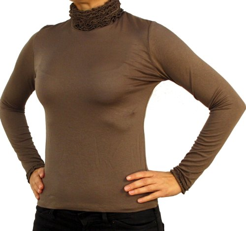Perano 2917 Damescoltrui blouse, shirt, lange mouw, katoen, wit, zwart, blauw, rood, bruin, groen, grijs, bordeaux, beige, nieuw.