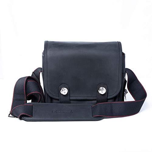 Q Bag Kameratasche aus wasserabweisendem Leder - Komfortable & sichere Fototasche geeignet für Leica Q1 und Q2