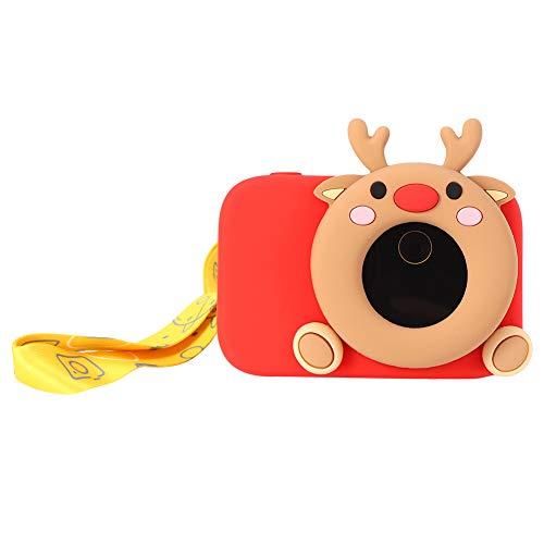Mini fotocamera, fotocamera per bambini in ABS, display a colori da 2,4 pollici per bambini Scatta foto Riconosci oggetti Bambini