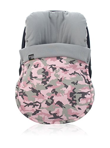 Marche Maman Coque pour groupe 0 Marche Winter Maman universelle Camouflage Girl Rose