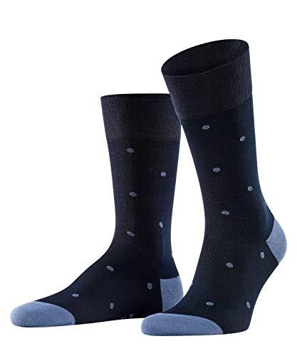FALKE Herren Dot M SO Socken, Blickdicht, Blau (Dark Navy 6377), 43-46 (3er Pack)