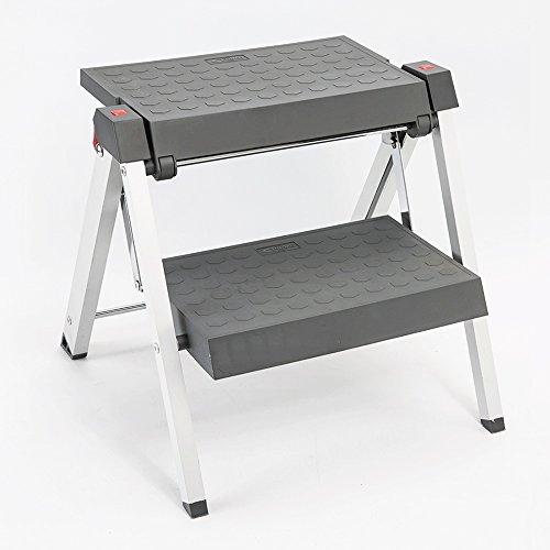 XSJZ Escalera de Aluminio Taburetes de peldaños Taburetes de peldaños Plegables y cómodos Taburete de peldaños para el hogar Taburete Antideslizante para niños Escalera de Mano (Color : 1#)