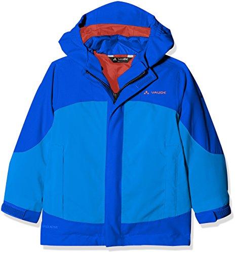 VAUDE Kinder Kids Suricate 3in1 Jacket III Doppeljacke, Ocean, 110/116