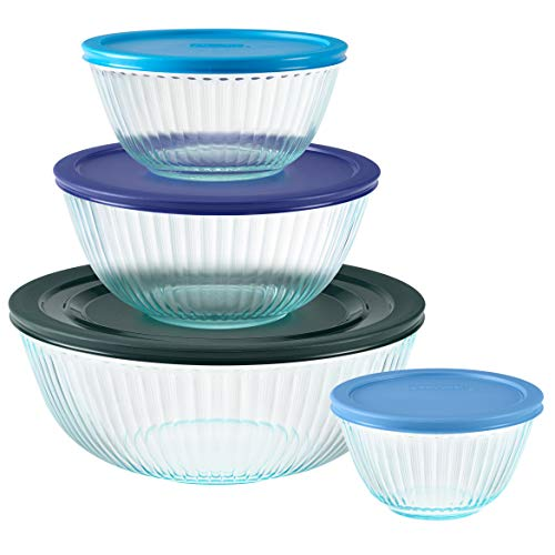 8 Piece Mixing Bowl Set