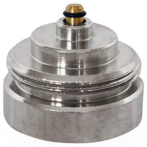 Eurotronic 700102 TA Metalladapter für elektronische Heizkörperthermostate, Metall