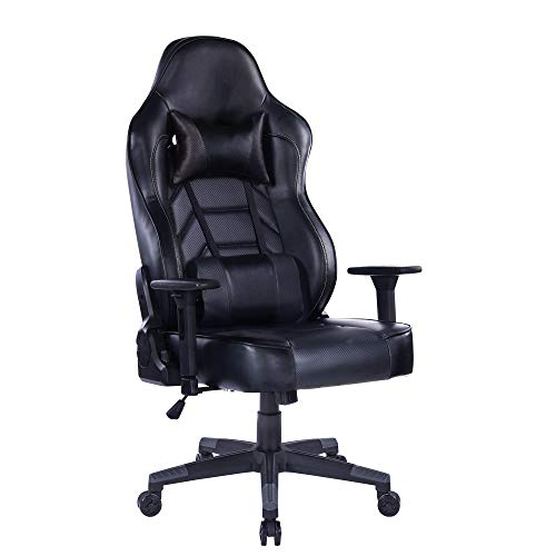 Blue Whale Gaming Chair (8291Black-1)