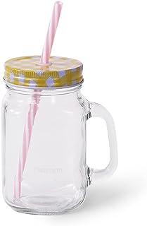 Fissman Smoothie Glass Jar 550 ML - Glass