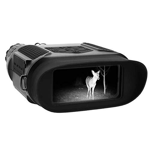CHENMAO Binocular infrarrojo, visión Nocturna Binocular de Alta definición Ampliación Ámbito Digital infrarrojo con Tarjeta de 4G TF Decuramiento óptico Pantalla Grande