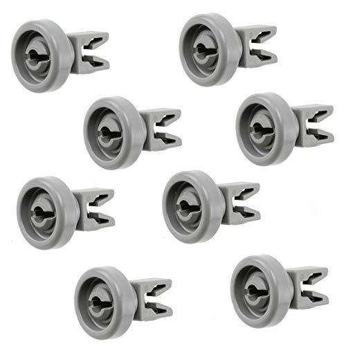 Cesta superior universal para lavavajillas AEG Electrolux Juno Privileg Zanussi 5028696700 50286966002 (8 unidades)