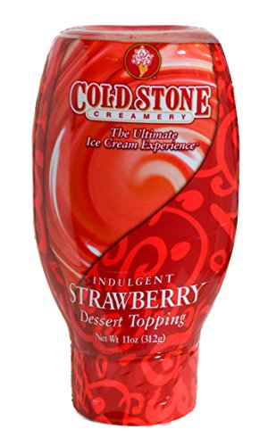 COLD STONE DESSERT TOPPER STRAWBERRY