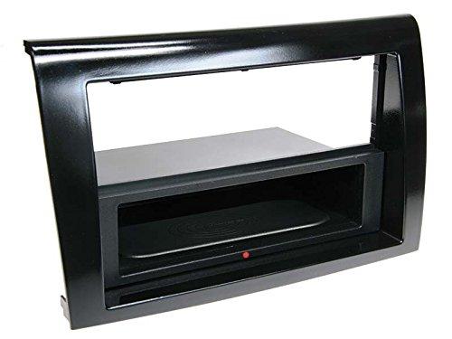 inbay – 1-dIN biseau de Radio avec compartimiento de Stockage Fiat Bravo, de Haut Gloss Noir