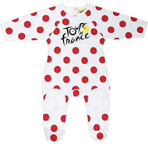 Le Tour de France Grenouillère Pyjama bébé Grimpeur de Cyclisme - Collection Officielle - Taille bébé garçon 18 Mois