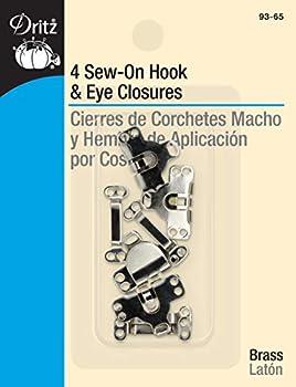 flat hook and eye