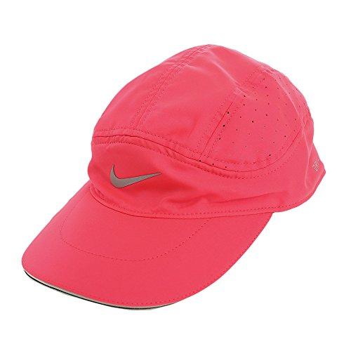 Nike W arobill TW Elite Tennis-Cap, Damen Einheitsgröße Rosa (Rennfahrer-rosa/schwarz)