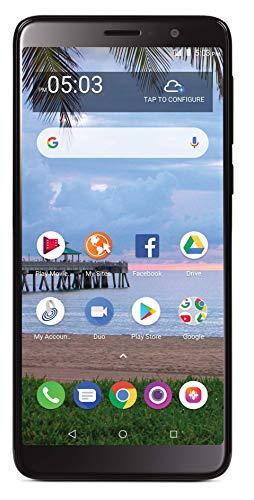 Net10 TCL A1X 4G LTE Prepaid Smartphone (Locked) - Black - 16GB - SIM Card Included - CDMA