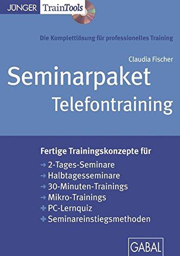 Seminarpaket Telefontraining (CD-ROM): Seminarpaket als CD-ROM mit Word-, PDF- und PowerPoint-Dateien