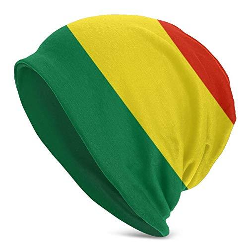 Lsjuee Bolivia Flag Beanie Hombres Mujeres - Unisex Invierno Verano Cálido Con puños lisos Slouchy
