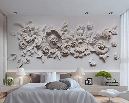 QHJIAFANG Papel Pintado Fotográfico Flor rosada cisne morado great art Foto Damasco La seda mural xxl 3d Mural Póster 200x140cm(Wxh)