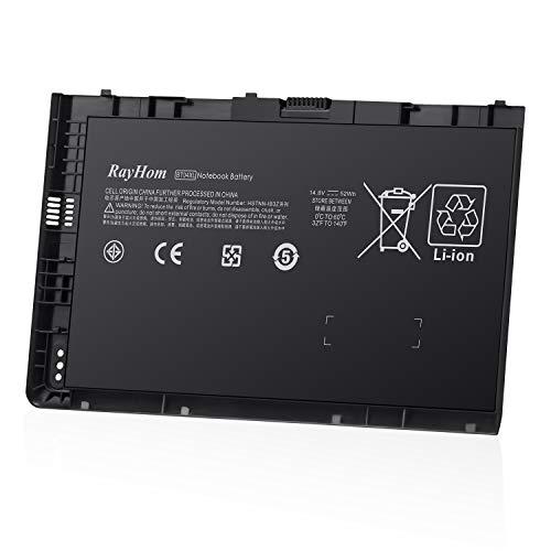 RayHom BT04 BT04XL Notebook Battery - for HP EliteBook Folio 9470 9470M 9480 9480M Series Ultrabook Laptop fits BA06 BA06XL Battery Spare 696621-001 H4Q47AA H4Q48AA 687945-001