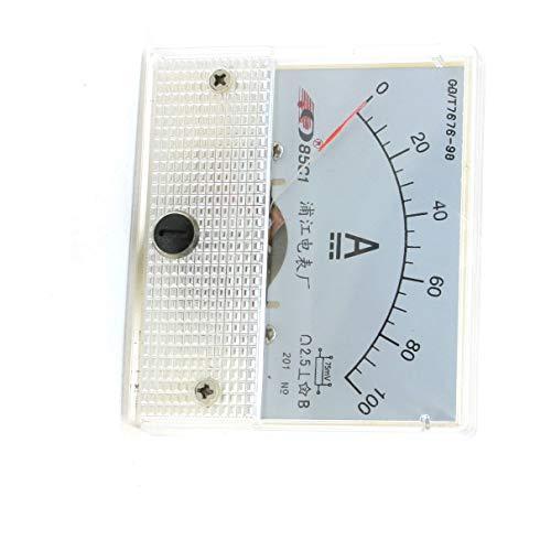 Aexit Klasse 2.5 DC 0-100A aktuellen Test 85 c1 Amperemeter Panel Meter Messgerät