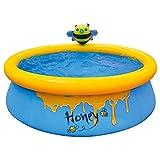 Phrat Inflatable Kiddie Pool, Baby Pool Water Play Aufblasbare Badewanne Für Drinnen Oder Draußen