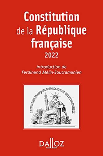 Constitution de la République française - 19e ed.