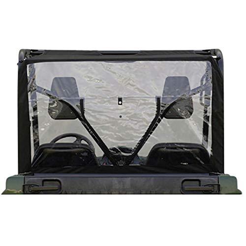 Genuine Yamaha Accessories Rear Window (Black) Compatible with 16-18 Yamaha YXZ1000R