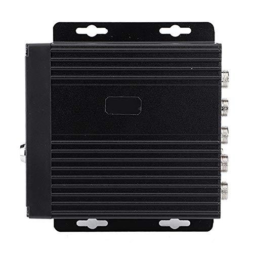 DVR móvil para Coche, Mini DVR móvil para Coche en Tiempo Real SD 4CH Entrada de Video/grabadora de Audio con Control Remoto