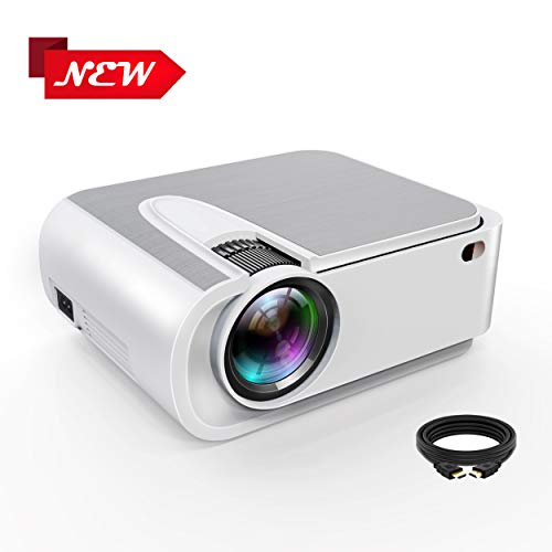 Projector,Xinda 4800 Lux Outdoor Projector,1080P and 210