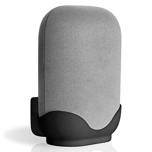 likeitwell Supporto da Parete Universale, Mensola A Parete in ABS per Google Nest Audio, Supporto da Tavolo da Parete