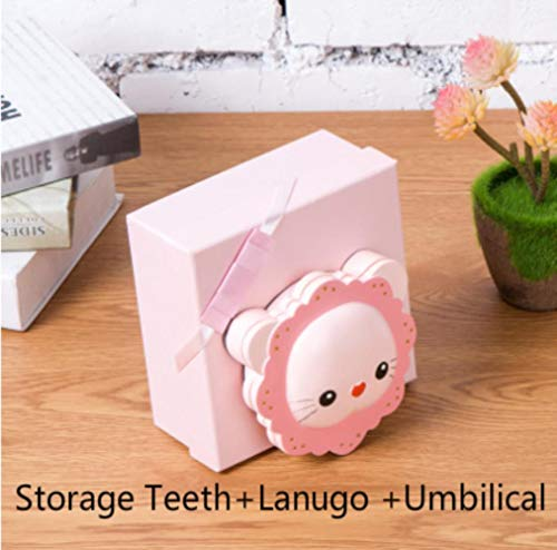 CUS Lovely Lion Baby Tooth Box Organizer Milk Teeth Storage Collect Collect Teeth Lanugo Save Kids Teeth Box Baby Keepsake Birthday Gifts New, B-3