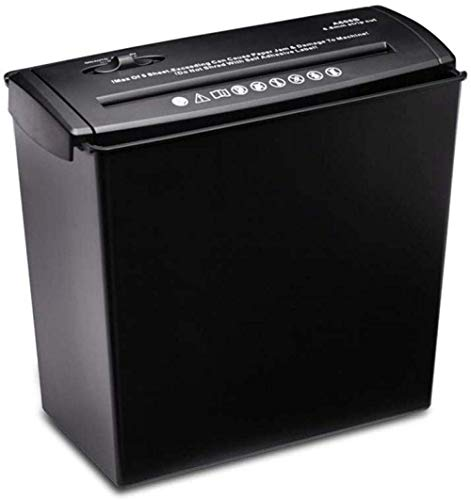 Fantastic Deal! Paper Shredder Small Desktop Electric Paper Shredder 5 Sheet Stripe Paper Shredder f...