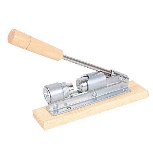 Floridivy Mechanische Nut Cracker Edelstahl Nussknacker Multi-Function Sheller Pekannüsse Cracker, Pekannüsse Opener, mechanische Cracker Metall-Öffner-Werkzeug Tragbare