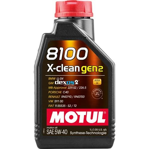 Motul Motorenöl 8100 X-CLEAN GEN2 SAE 5W-40