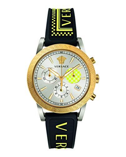 Versace VELT00519 Sport Tech Chronograph Damen 40mm 5ATM
