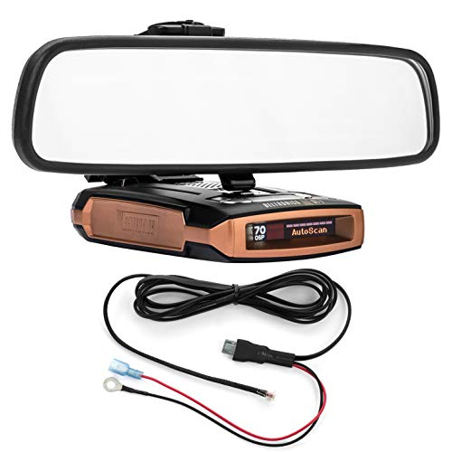Great Features Of Radar Mount Mirror Mount Bracket + Direct Wire Power Cord for Beltronics GT-7 (300...