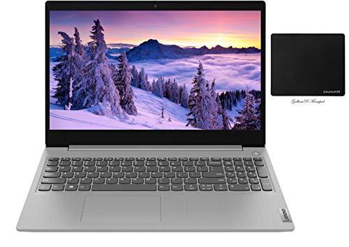 "Newest Lenovo IdeaPad 3 Laptop, 15.6"" HD LED Touch Screen, 10th Gen Intel Quad-Core i5-1035G1 (Beats i7-8550U), 12GB RAM, 256GB SSD, WiFi, Webcam, HDMI, Bluetooth, Windows 10 + GalliumPi Accessories"