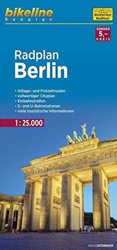 Bikeline Radkarte Berlin 1 : 25 000