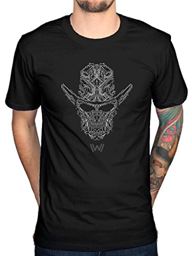 Official Westworld Circuit Face T-Shirt