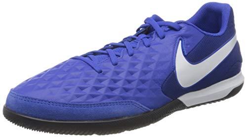 Nike Unisex Legend 8 Academy Indoor Fußballschuhe, Mehrfarbig (Hyper Royal/White/Deep Royal Blue 414), 47.5 EU