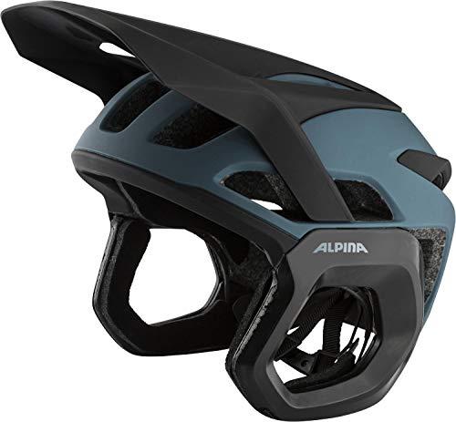 Alpina Unisex– Erwachsene ROOTAGE EVO Fahrradhelm, Dirt-Blue matt, 52-57 cm