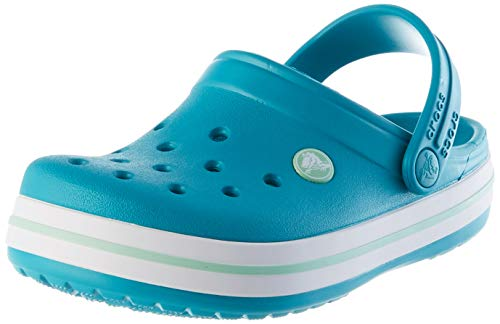 crocs Unisex-Kinder Crocband K Clogs, Latigo Bay, 25/26 EU