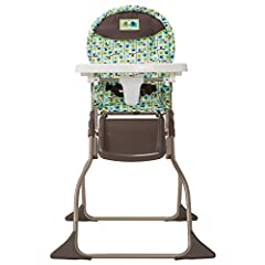 Easy wipe seat makes all that baby goo simple to clean Folds flat and stands on its own, making it easy to hide away Compact fold great for taking on the go No nonsense design sets up in just seconds 3 point harness keeps child up to 50 pounds secure...