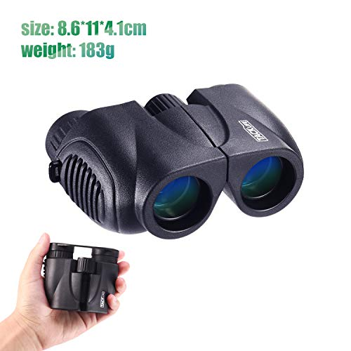 Binoculars, Compact Folding Telescope 10 x 22 with Dust Proof Now $7.20 (Was $24)