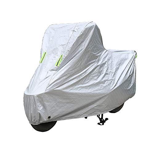 Teli per moto Compatibile con telo coprimoto Triumph Tiger 800, telo coprimoto per protezione outdoor per tutte le stagioni, materiali compositi con rivestimento in PE resistente con fori di bloccaggi