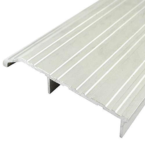 Mill Aluminum/Fire Rated Half Threshold/Saddle (35761MA), SMS #10 x 1-1/2'' Supplied, (5'' W x 1/2'' H) (36'')